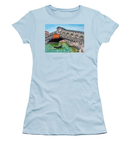 Ponte Di Rialto Women's T-Shirt (Athletic Fit)