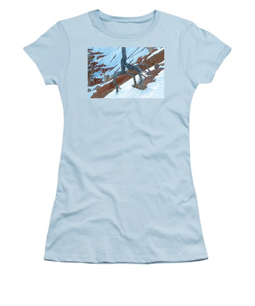 Sunrise Point Bryce Canyon National Park Women's T-Shirt (Athletic Fit)