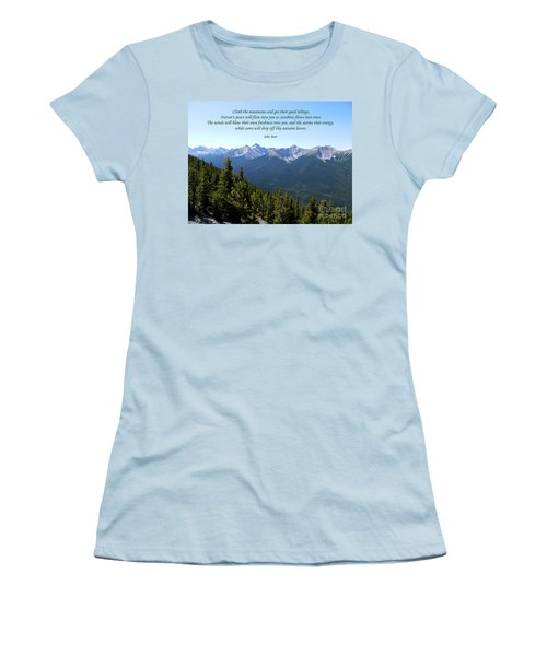 46- John Muir Women's T-Shirt (Athletic Fit)