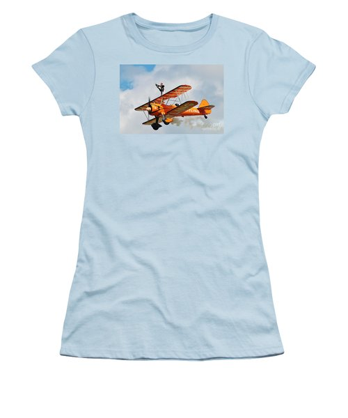 Breitling Wingwalkers Team Women's T-Shirt (Athletic Fit)