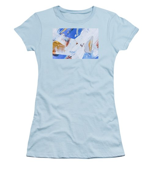 A Little Blue Women's T-Shirt (Junior Cut) by Heidi Smith
