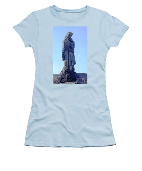 Women's T-Shirt (Junior Cut) featuring the photograph A Mother's Love by Alys Caviness-Gober
