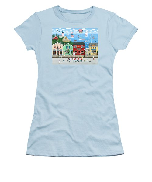 A Star Spangled Day   Women's T-Shirt (Athletic Fit)