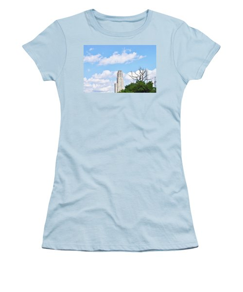 Women's T-Shirt (Junior Cut) featuring the photograph A Unique Perspective by Jean Goodwin Brooks