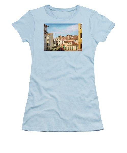 A Venetian View Women's T-Shirt (Athletic Fit)