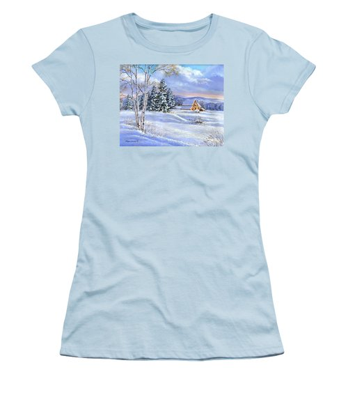 A Winter Afternoon Women's T-Shirt (Athletic Fit)
