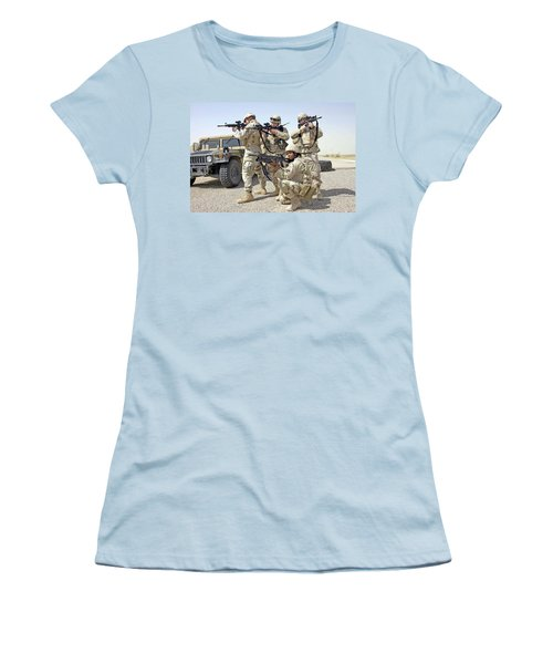 Women's T-Shirt (Junior Cut) featuring the photograph Air Force Squadron by Science Source
