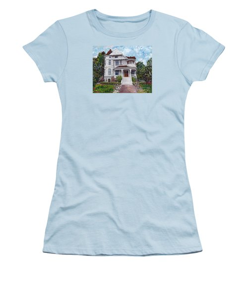 Alameda 1897 - Queen Anne Women's T-Shirt (Junior Cut) by Linda Weinstock