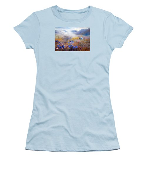 All In A Dream - Impressionism Women's T-Shirt (Athletic Fit)