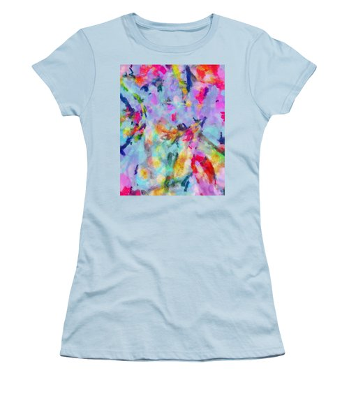 Women's T-Shirt (Junior Cut) featuring the painting All Those Good Things by Joe Misrasi
