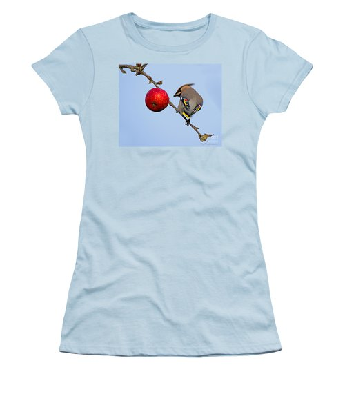 An Apple A Day... Women's T-Shirt (Athletic Fit)