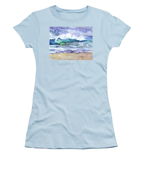 An Ode To The Sea Women's T-Shirt (Junior Cut) by Carol Wisniewski