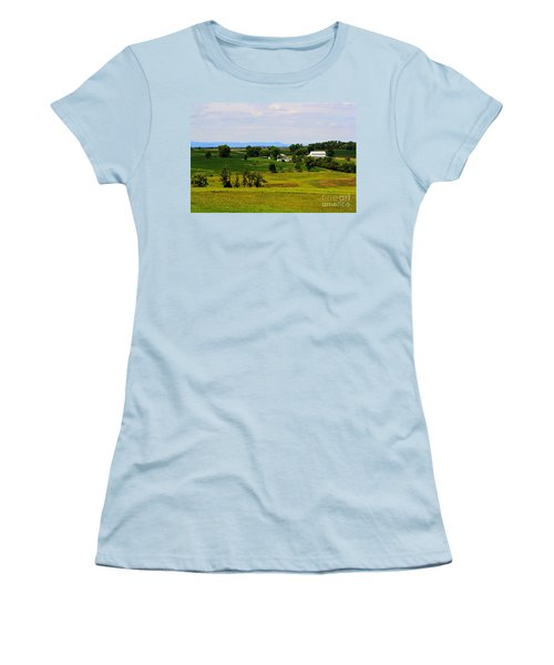 Antietam Battlefield And Mumma Farm Women's T-Shirt (Athletic Fit)