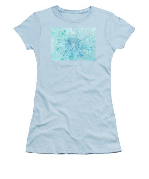 Aqua Salsify Women's T-Shirt (Athletic Fit)
