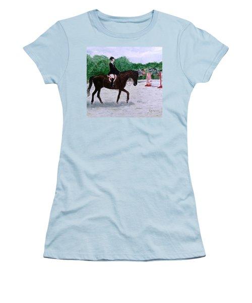 At The June Fete Women's T-Shirt (Athletic Fit)