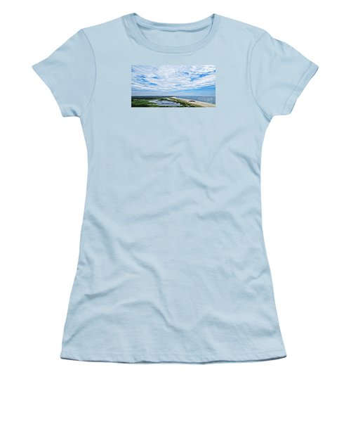 At The Top Of The Lighthouse Women's T-Shirt (Athletic Fit)