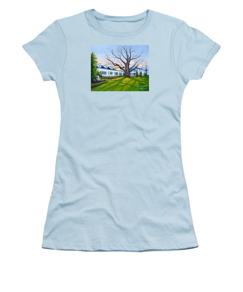Augusta National Clubhouse Women's T-Shirt (Athletic Fit)