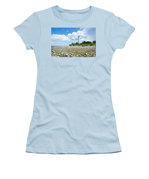 Baltic Sea Lighthouse Women's T-Shirt (Athletic Fit)