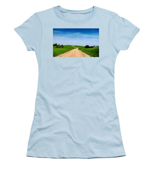 Battle Creek Road From The Saddle Women's T-Shirt (Athletic Fit)