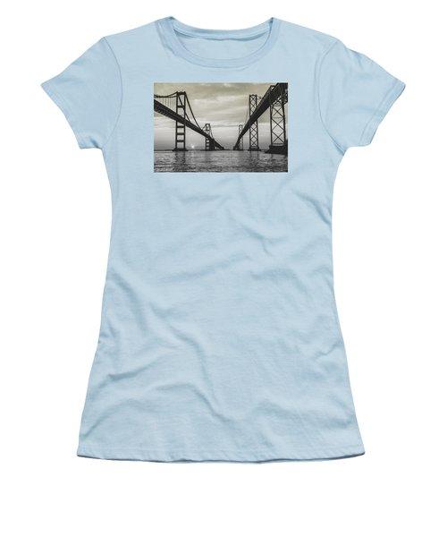Bay Bridge Strong Women's T-Shirt (Junior Cut)