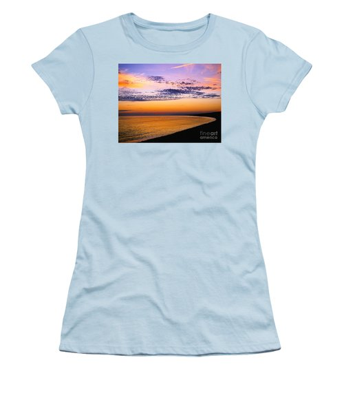 Bay Sunset Women's T-Shirt (Athletic Fit)
