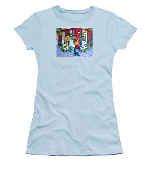 Bayou Street Band Women's T-Shirt (Athletic Fit)