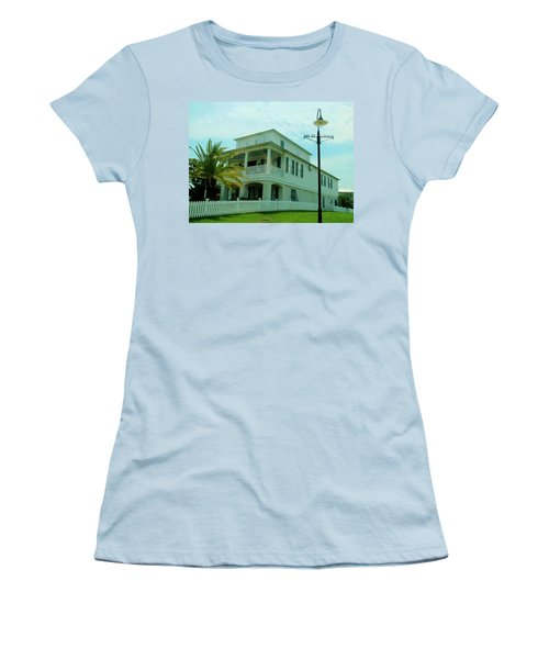 Beach House - Bay Saint Louis Mississippi Women's T-Shirt (Athletic Fit)
