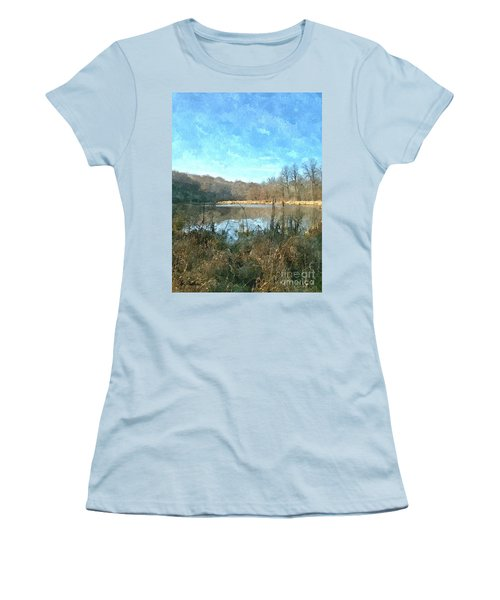 Women's T-Shirt (Junior Cut) featuring the photograph Beautiful Day 2 by Sara  Raber
