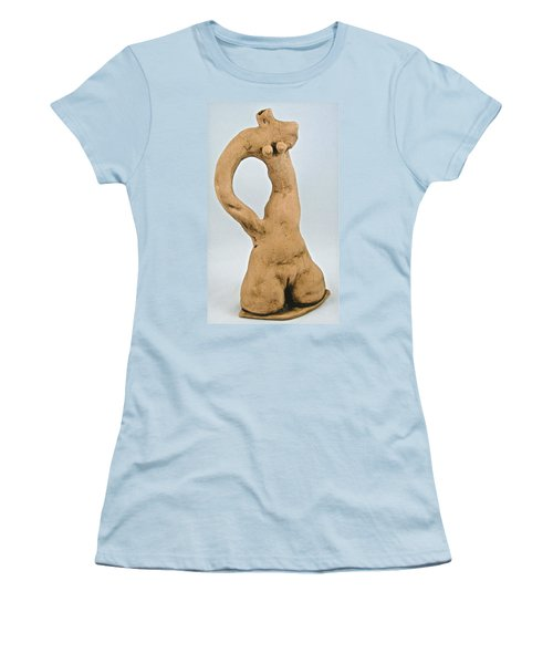 Beauty Must Pose For Us Women's T-Shirt (Junior Cut) by Mario Perron