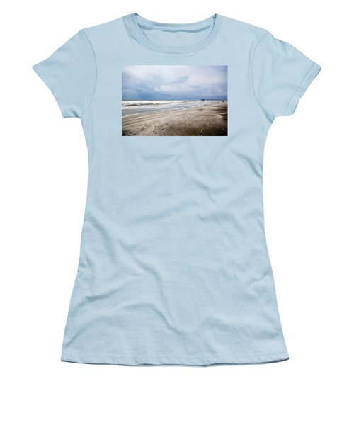 Women's T-Shirt (Junior Cut) featuring the photograph Before The Storm by Sennie Pierson