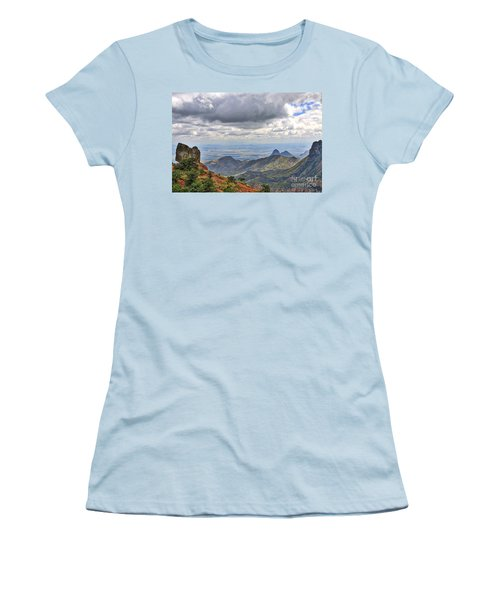 Big Bend National Park Women's T-Shirt (Athletic Fit)