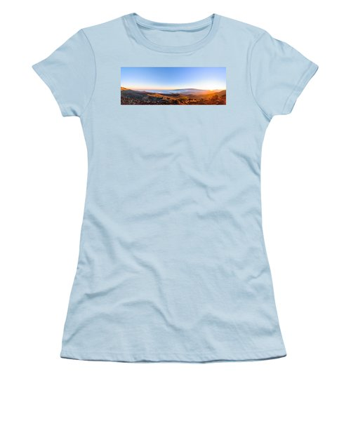 Big Island Sunset 2 Women's T-Shirt (Athletic Fit)