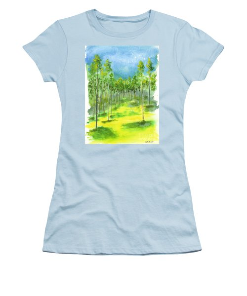 Birch Glen Women's T-Shirt (Athletic Fit)