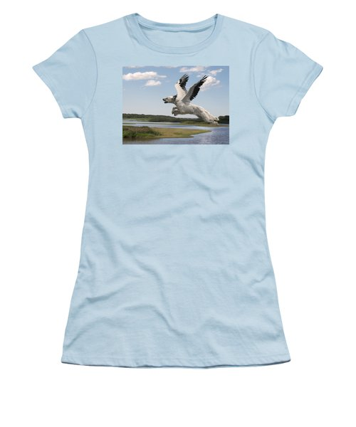 Bird Dog Women's T-Shirt (Athletic Fit)