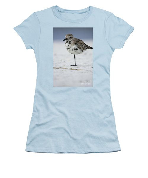 Black-bellied Plover Women's T-Shirt (Athletic Fit)