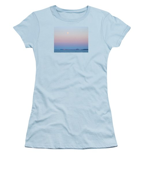 Blue Moon Eve Women's T-Shirt (Athletic Fit)