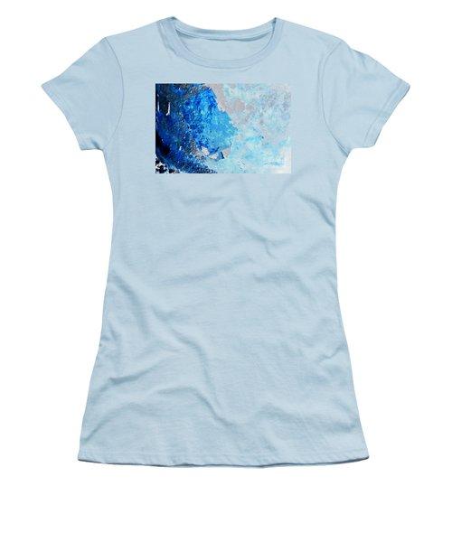Blue Rust Women's T-Shirt (Junior Cut) by Randi Grace Nilsberg