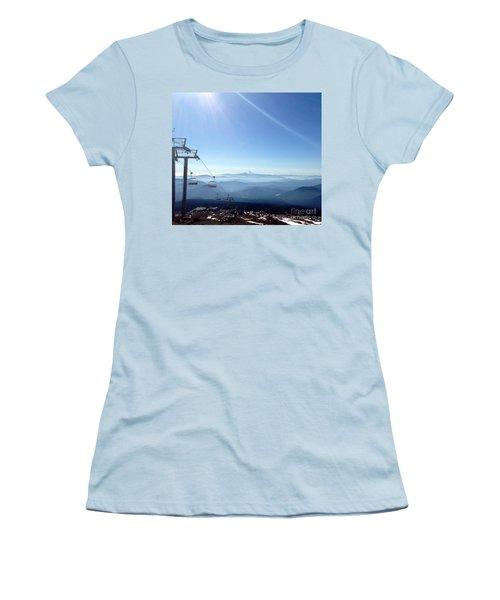 Blue Yonder Women's T-Shirt (Athletic Fit)
