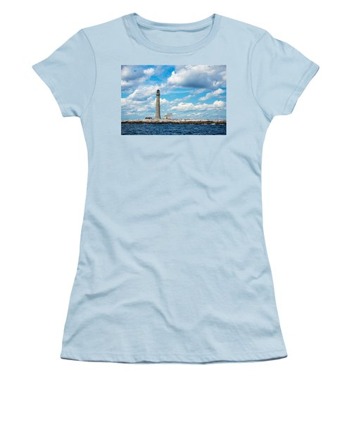 Boon Island Light Station Women's T-Shirt (Athletic Fit)