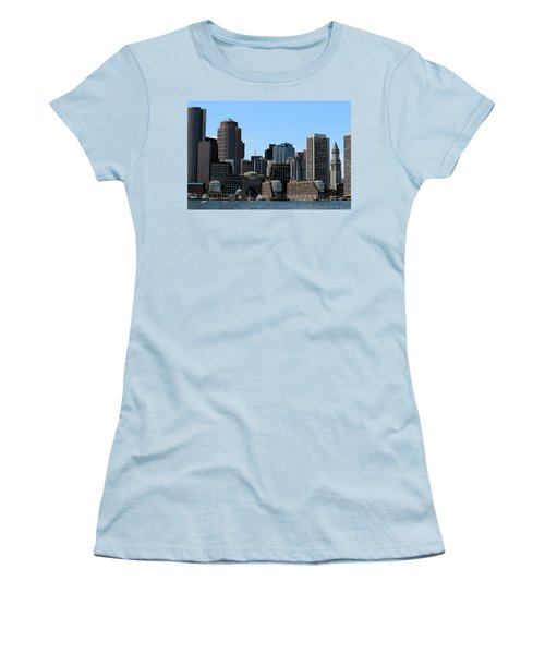 Boston Harbor Women's T-Shirt (Athletic Fit)