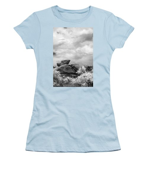 Boulders In Another Light Women's T-Shirt (Athletic Fit)