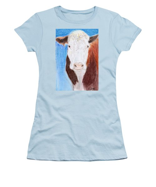 Brown-eyed Girl Women's T-Shirt (Junior Cut) by C Sitton