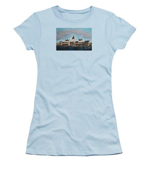 Budapest Parliament By Jasna Gopic Women's T-Shirt (Junior Cut)