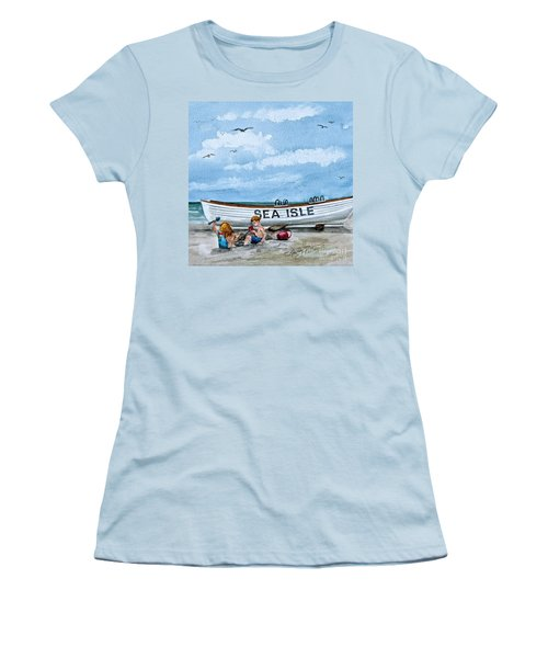 Buddies In Sea Isle City 2 Women's T-Shirt (Athletic Fit)
