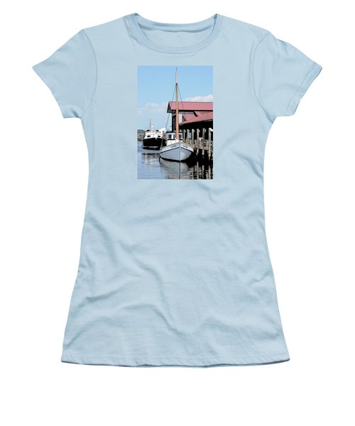 Buy Boat Old Point Women's T-Shirt (Athletic Fit)