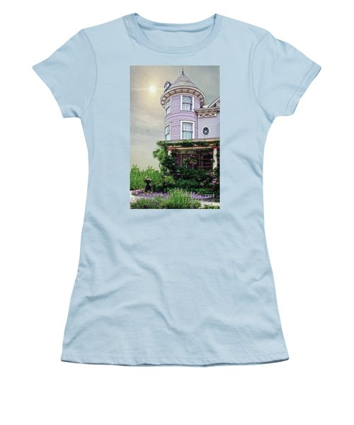By The Seaside Women's T-Shirt (Athletic Fit)