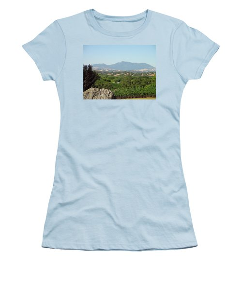 Women's T-Shirt (Junior Cut) featuring the photograph Cali View by Shawn Marlow