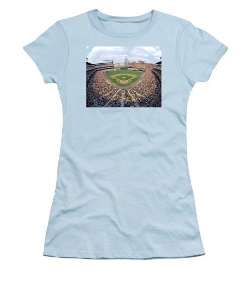 Camden Yards Baltimore Md Women's T-Shirt (Athletic Fit)