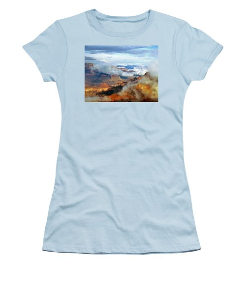 Canyon Clouds Women's T-Shirt (Athletic Fit)