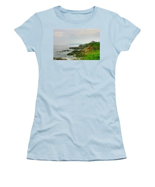 Cape Elizabeth Maine Women's T-Shirt (Athletic Fit)